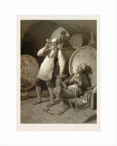 Wine Cellar by Anonymous