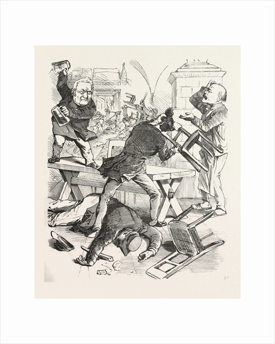 A Fight after a Glass of Beer by Anonymous