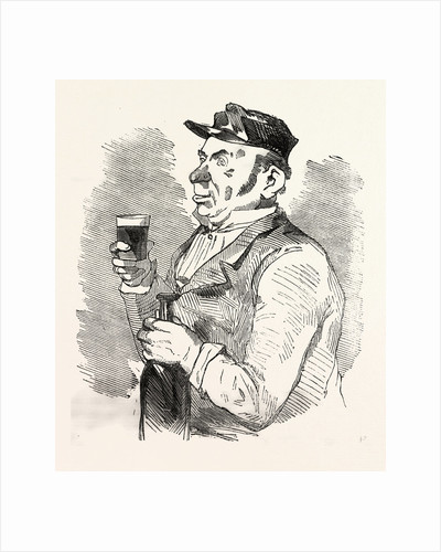 The Concierge of the Roche-Noire Castle Drinking on the Health of the Count by Anonymous