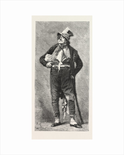 Frederick Lemaitre in One of His Characters by Anonymous
