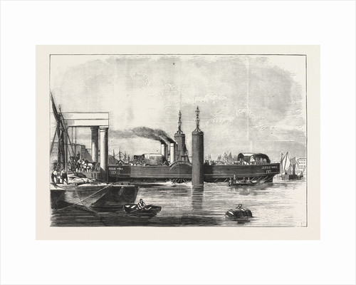 New Steam Ferry-Boat for the Thames, the Jessie May by Anonymous