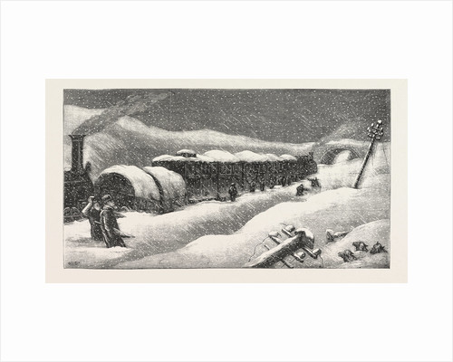 The Accident, an Incident on the Great Northern Railway, Between Grantham and Peterborough by Anonymous