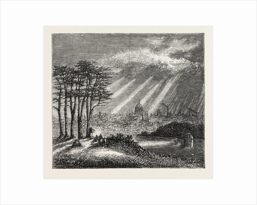 The North of London, the Heath, Hampstead by Anonymous