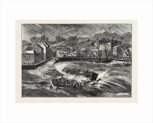The Fatal Ferry-Boat Accident in Youghal Harbour, County Cork, Ireland by Anonymous
