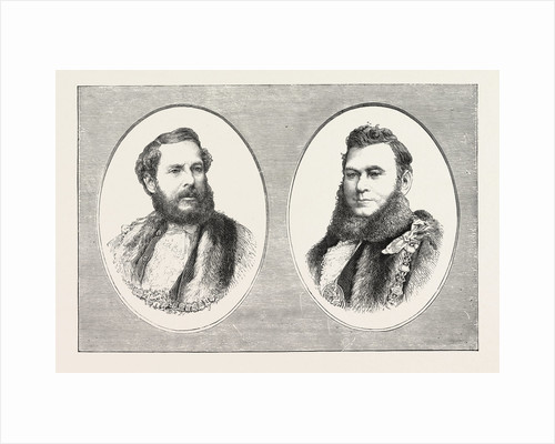 Mr. Sheriff East and Mr. Alderman and Sheriff Hadley, the Sheriffs on London and Middlesex by Anonymous