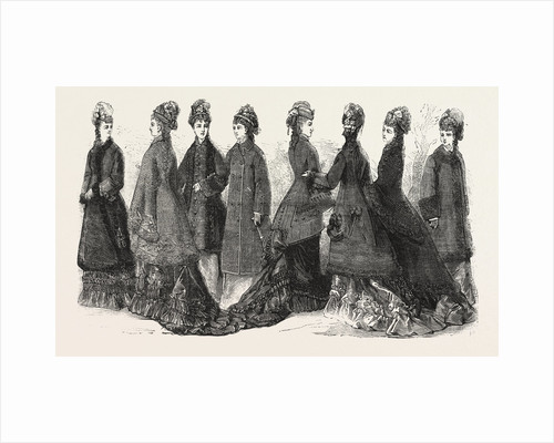 Fashion, Ladies Costumes for Autumn and Winter by Anonymous