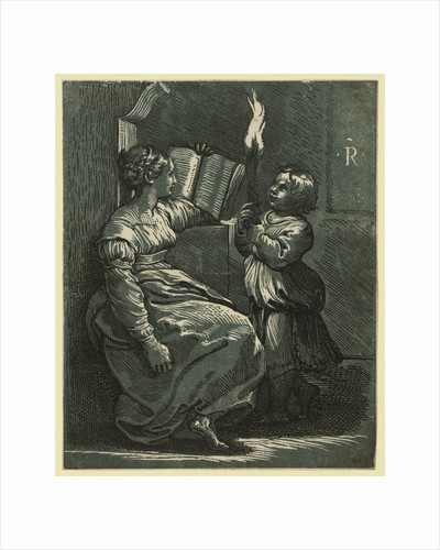 Sibyl Reading a Book by Anonymous