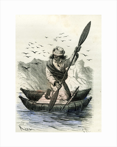 Pacific Coast Fisher 1869 Peru by Anonymous