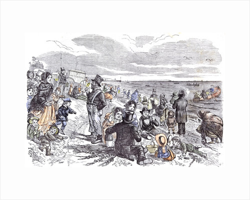 Eight Hours at the Sea-Side J. Leech Children Brighton 1856 by Anonymous