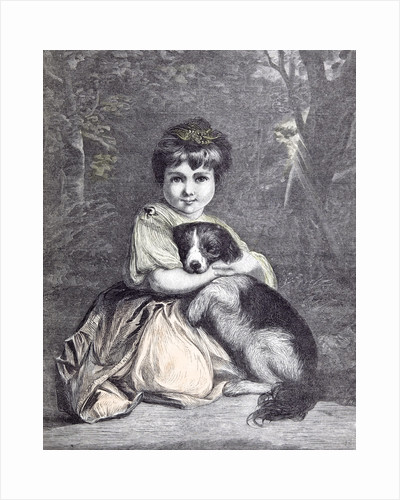 Love Me Love My Dog. 1873 by Anonymous