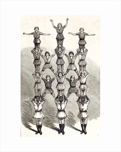English Boys Sport 1881 by Anonymous
