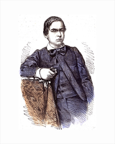Ricciotti Youngest Son of Garibaldi 1860 by Anonymous