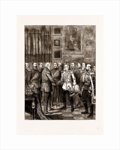Birthday Reception Of The Emperor Of Germany At Berlin, Germany by Anonymous