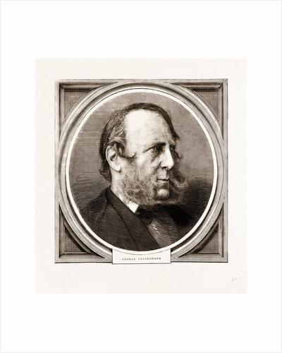 George Cruikshank, 1875 by Anonymous