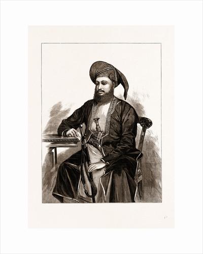 Seyyid Bargash Bin Said Sovereign Of Zanzibar, 1875 by Anonymous