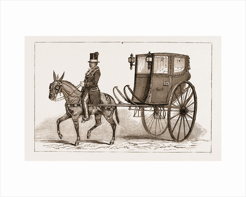 The caleza, Or Old-fashioned Carriage Of The Country by Anonymous