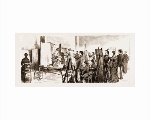 Opening Of The New Wing Of University College, London by Anonymous