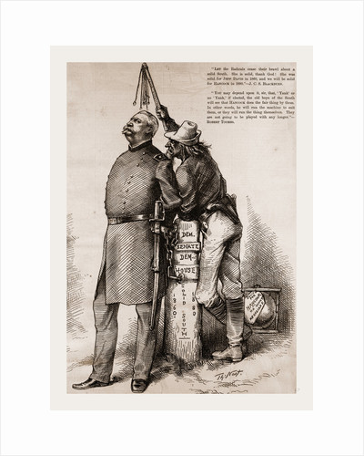 Master And Slave, 1880 by Anonymous