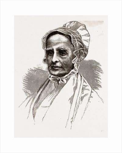 Lucretia Mott, 1880 by Anonymous
