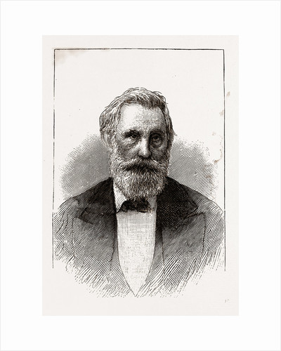 Hon. 0. M. Roberts, Governor of Texas, 1880 by Anonymous