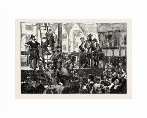 Execution of Tomkins And Challoner by Anonymous