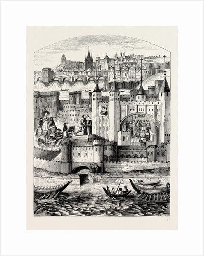Captivity of the Duke of Orleans in the Tower by Anonymous