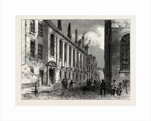 The Merchant's Taylors School, Suffolk Lane, 19th Century by Anonymous