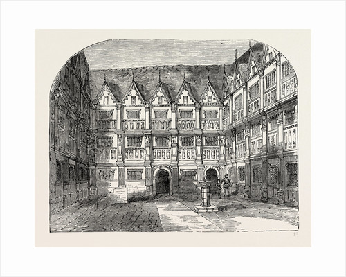 Sir Thomas Gresham's House in Bishopsgate Street by Anonymous