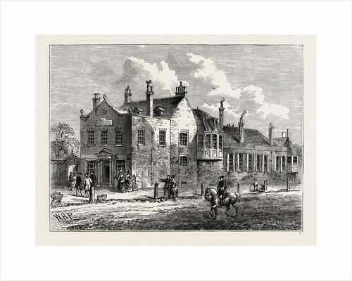 Exterior of Bagnigge Wells in 1780 by Anonymous