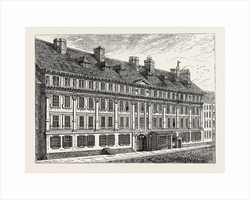 Exterior of Furnival's Inn, 1754 by Anonymous