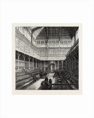 Interior of the House of Commons, 1875 by Anonymous