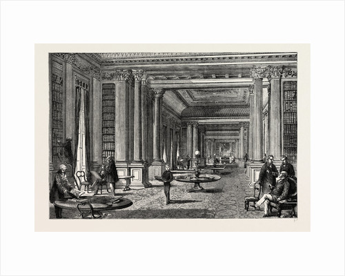 Library of the Reform Club by Anonymous