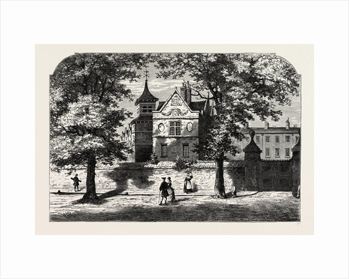 The Marylebone School-house in 1780 by Anonymous