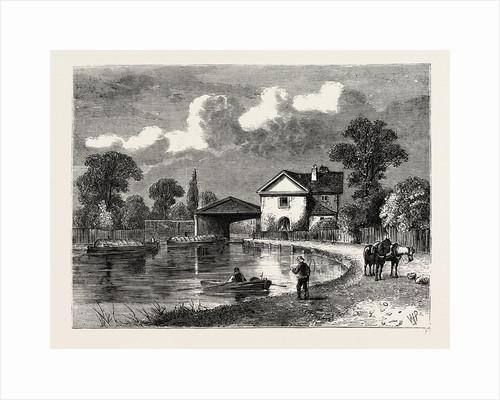 Paddington Canal, 1820 by Anonymous
