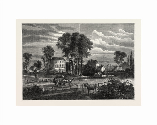 Paddington Green in 1750 by Anonymous