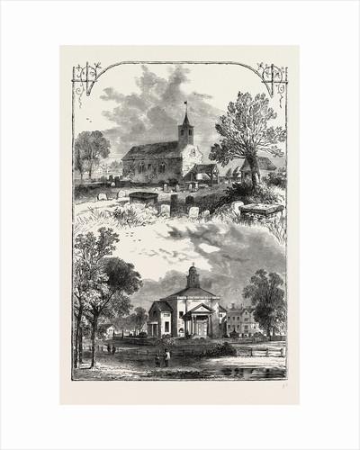 Paddington Church: 1750 And 1805 by Anonymous