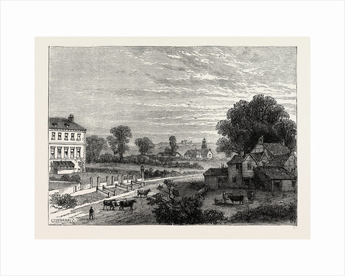 Lisson Green in the Eighteenth Century by Anonymous