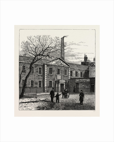 Printing House Square And the times Office, 1870 by Anonymous