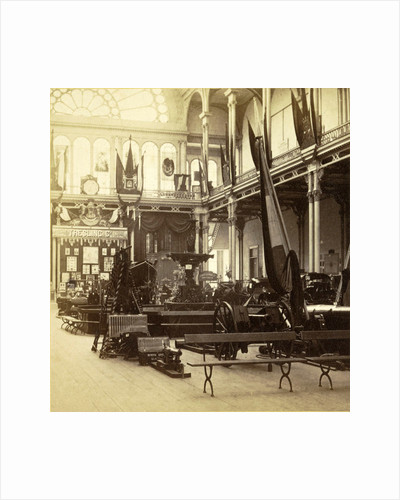 Exhibition of National Industry in the Palace of Industry, Amsterdam by Anonymous