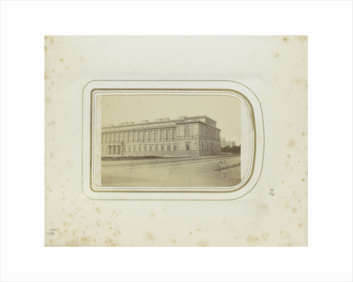 Exterior of the Alte Pinakothek in Munich, Germany by Anonymous