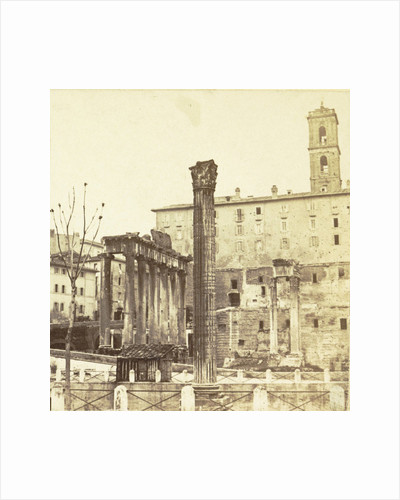 Column of Phocas in Rome, Italy by Anonymous