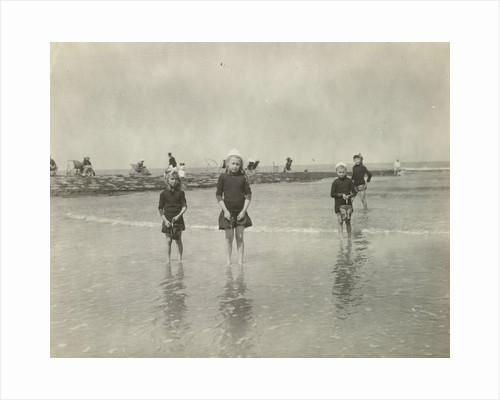 Children at Sea North Sea, the Netherlands or Germany by Anonymous