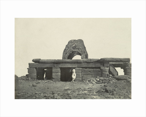 Temple of Amada, with cupola of a Coptic church, Egypt by Anonymous
