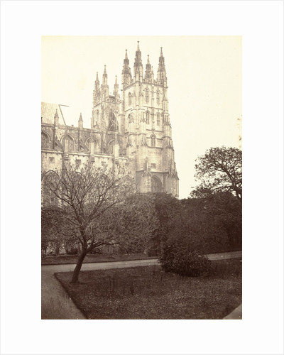 Exterior view of Canterbury Cathedral by G. Austin