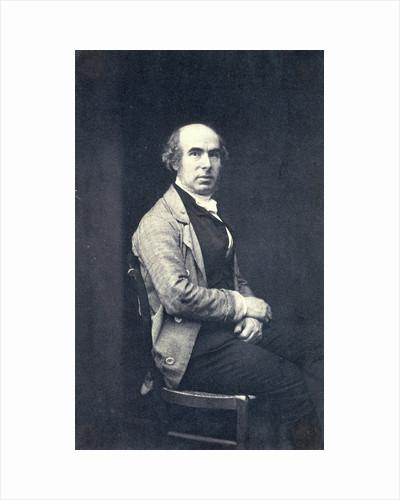 Self Portrait of Eduard Isaac Asser by Eduard Isaac Asser