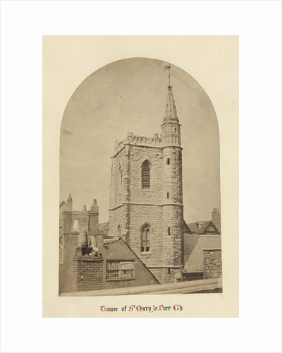 Tower of St. Mary le Port Church by C.W. Warren