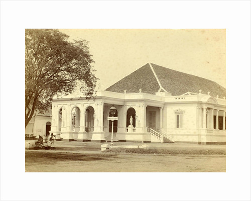 Exterior of Comedy Building in Batavia, Indonesia by Anonymous