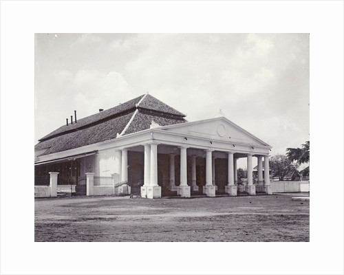 Exterior of the Comedie Building Surabaya, Indonesia by Anonymous