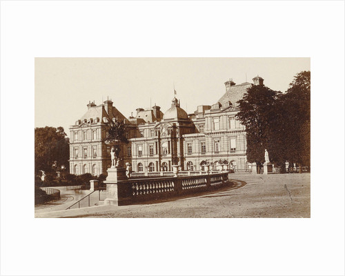Exterior of the Palais du Luxembourg in Paris, France by Anonymous