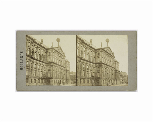 posterior Facade of the King's Palace in Amsterdam by Henri Plaut